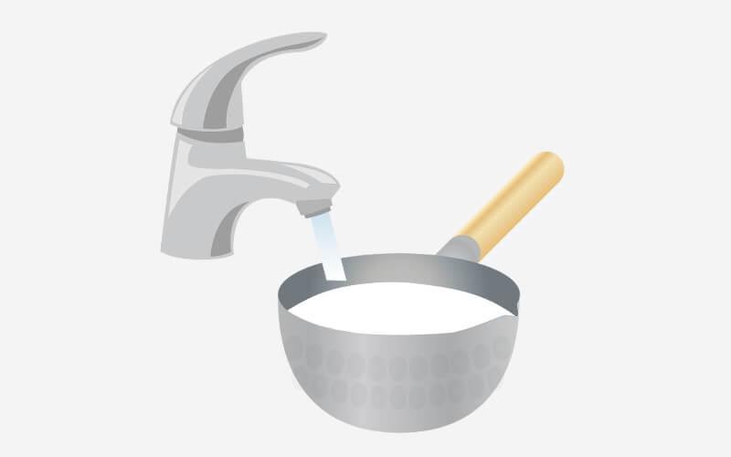 ご飯を炊く2