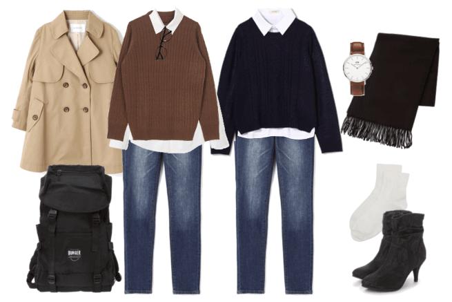 5ベーシックファッションコーデ