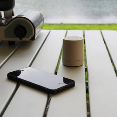 無印良品ダイヤル式Bluetoothスピーカー