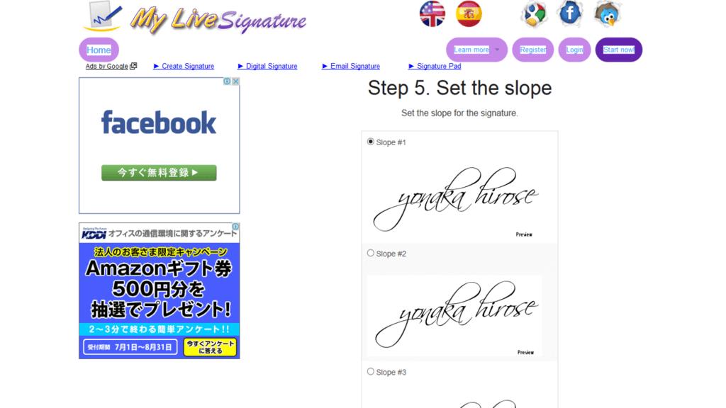 6My live signature