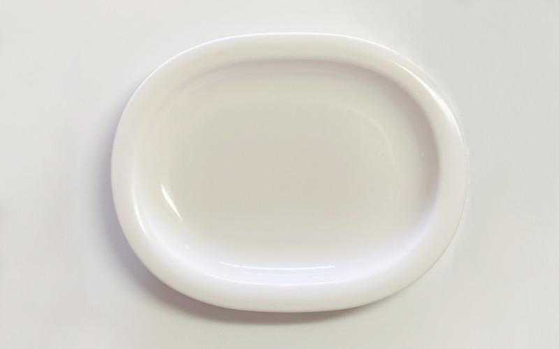 セリア楕円メラミン皿