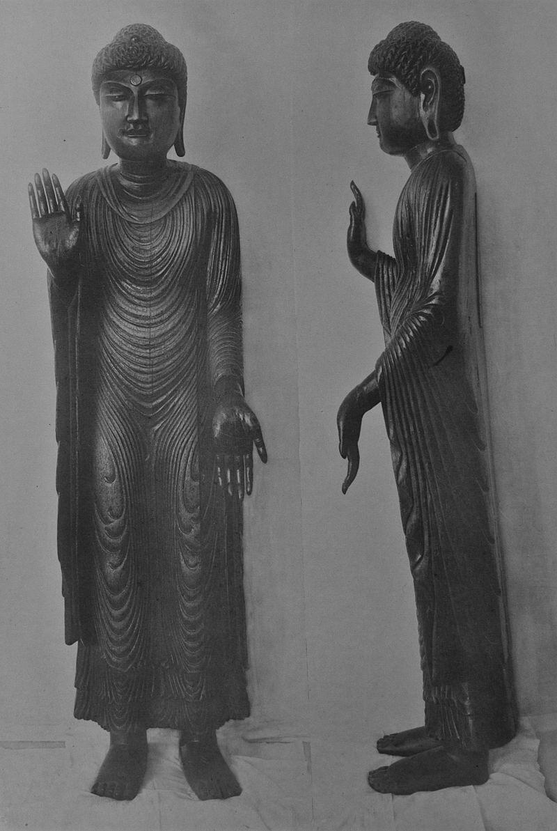 清涼寺釈迦如来本尊