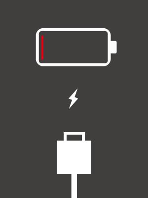 iPhone4充電できない画面コネクタ表示