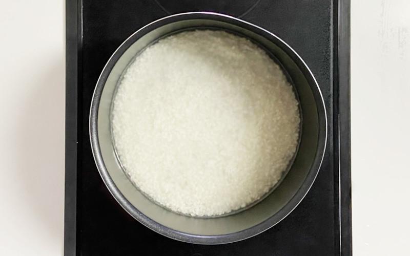 鍋で米を炊く_3